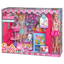 Boneca Barbie Malibu Boutique De Bichinhos - Pet Shop