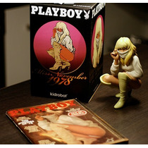 Boneca Kidrobot Playboy 19 Cm Miss Novembro 1978 St. Pierre
