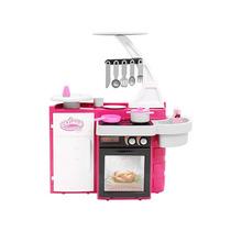 Cozinha Infantil Classic Com Pia E Acessórios Cotiplas 76cm