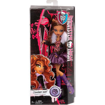 Monster High Bonecas Originais Clawdeen Wolf