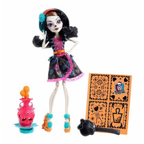 Monster High Skelita Calaveras Boneca Com Acessórios - Nova