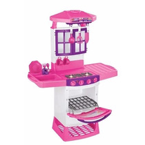 Cozinha Magica Eletronica+geladeira Super+micro Magic Toys
