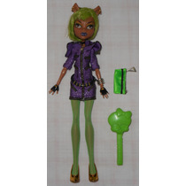 Monster High Boneca Clawdeen Wolf Festa Monstro Fashion 28cm