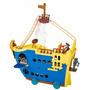 Barco Jake E Os Piratas Poderoso Colosso Fisher Price