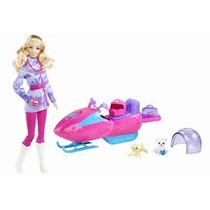 Boneca Barbie Quero Ser Biologa Do Artico