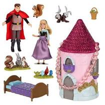 Disney Store Princesa Aurora Bela Adormecida Boneca Príncipe