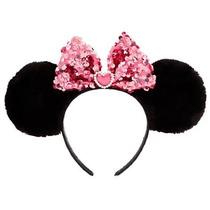 Disney Store - Tiara /arco Minnie Orelhinha Rosa Original