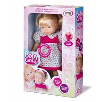 Boneca Bebê Baby Canta Canções Grande 48cm C/ Nota Fiscal