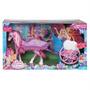 Barbie Butterfly E A Princesa Carruagem Do Pegasus Mattel
