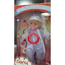 Boneca Nany Babybrink,ela Chora,ri E Chama A Mamãe
