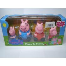 Família De Porquinhos Peppa Pepa Porquinho Desenho Promoção