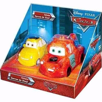 Carros Tow Matter E Luigi Em Vinil Disney Pixar 629