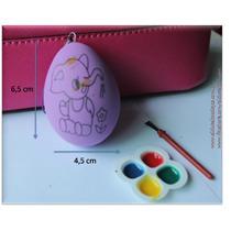 Siticas Ovos De Páscoa Plásticos Pintando O 7