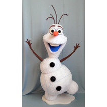 Boneco Cenográfico Olaf. Ideal Para Festas E Buffet