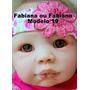 Bebê Reborn Fabiana - Fabiano Boneca Que Parece Um Bebe Real