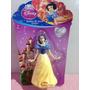 Boneca Branca De Neve Disney 7 Anões Miniatura Topo De Bolo