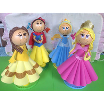 Princesas Disney Em Eva 30cm