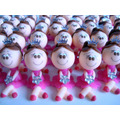 Bonecas De Biscuit - Caixa Com 50 Unidades