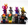 Kit 8 Pçs Tipo Lego Marvel Dc X-men Galactus Deadpool Cybor