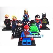 Miniaturas Marvel E Liga Da Justiça - Compatíveis