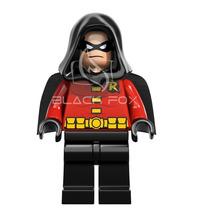 Robin Do Batman Com Capuz - Dc - Decool Compatível Com Lego