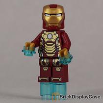 Bonequinho Tipo Lego Iron Man Mark 42