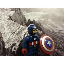 Capitão América Vingadores Marvel Heroes Avengers Lego
