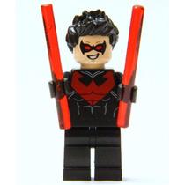 Asa Noturna Robin Dc Lego Playmobil Bloco De Montar Batman