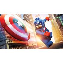 Lego Super Heroes Marvel Capitão América Pronta Entrega!!!