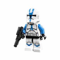 Lego Minifigure Clone Troopers Azul Z-95 501st Legion Avulso