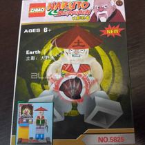 Naruto Shippuden - Earth Zhiao Compatível Com Lego
