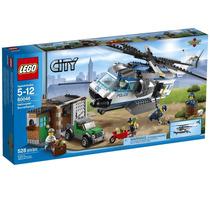 Lego City 60046 Helicopter Surveillance - 528 Peças