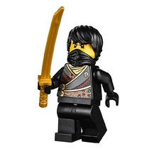 Boneco Lego Ninjago Cole Preto Original + Espada