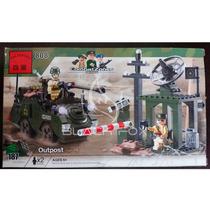 Exército Army Posto Soldado Enlighten Compatível Com Lego