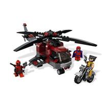 Tipo Lego Marvel Wolverine Magneto Deadpool Moto