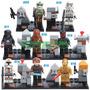 Bonecos Compatíveis Com Lego - Diversos - Star Wars Hobbit +