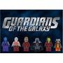 6 Tipo Lego Guardões Da Galáxia - Compra Programada -s/juros
