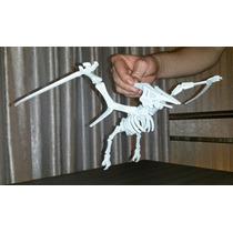 Dinossauro Pterodáctilo Montável Em Plástico Abs