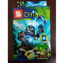 Gorila Macaco Guerreiro Chima 3 Sluban Compatível Com Lego
