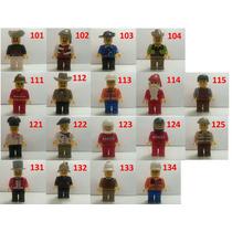 10 Bonecos Tipo Lego City - Frete Gratis!