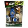 R2d2 Star Wars Lego Original C3po Mais Relogio Frete Gratis