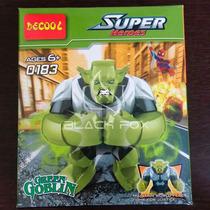 Green Goblin Duende Verde Grande Decool Compatível Com Lego