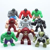 Mini Figuras Grandes Hulk,venom,duende Verde,homem De Ferro