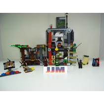 Tartarugas Ninjas Turtle Lair Attack Playset Lego