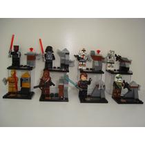 Star Wars Darth Vader C3po Chewbacca O Império = Lego