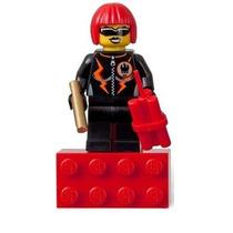Lego City - Minifigura Vilã Espacial Menina