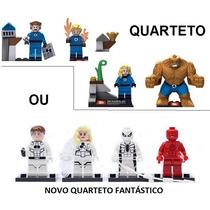 Tipo Lego Quarteto Fantástico Marvel Vingadores P.entrega!!!