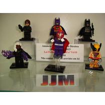Batman Mulher Gato Magneto Tempestade Wolverine Lego
