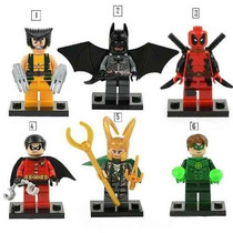 Tipo Lego Super Heroes Marvel Vingadores Batman Iron Man Etc