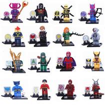 Kit Super Heroes Arrow, Deadpool, Wolverine, Loki, Ant Man